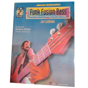 Funk Fusion Bass com CD - Jon Liebman For Bass - HL00696553