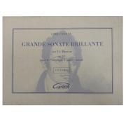Grande Sonate Brillante en Ut Mineur op. 10 pour le Pianoforte à quatre mains - Carl Czerny 22429