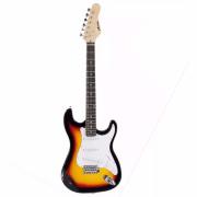 Guitarra Austin Strato Elétrica Com Alavanca