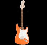 Guitarra Fender 031 0600 - Squier Affinity Strat - 596 - Competition Orange