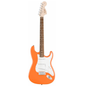 Guitarra Fender 037 0600 - Squier Affinity Strat Lr - 596 - Competition Orange