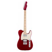 Guitarra Fender 037 1222 - Squier Contemporary Telecaster Hh Mn - 525 - Dark Metallic Red