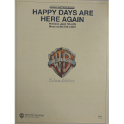 Happy Days Are Here Again - Words by Jack Yellen - VS0253