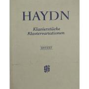 Haydn Klavierstucke Klaviervariationen - Urtext