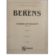 Herman BERENS School of Velocity Opus 61 Complete for Piano K03208