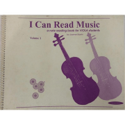 I Can Read Music Uma leitura de notas para estudantes de violas, Volume 1
