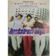 I Want it That Way - Recorded by Backstreet Boys on Jive Records PV9955