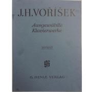 J.H. Vorisek Ausgewahlte Klavierwerke - Urtext - G. Henle Verlag - 278