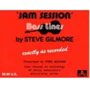 Jam Session Bass Lines By Steve Gilmore From Volume 34 Jamey Aebersold,S