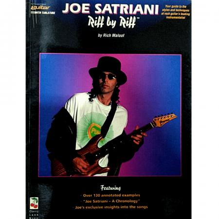 Joe Satriani Riff By Riff by Rich Maloof Guitar - 02506314
