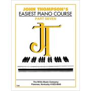 John Thompson's Easiest Piano Course - Parte Seven - 7396
