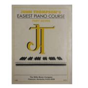John Thompson's Easiest Piano Course - Parte Seven 7 - ref. 7396