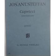 Jos. Ant. Steffan Capricci - Erstausgabe - Urtext - G. Henle Verlag - 227