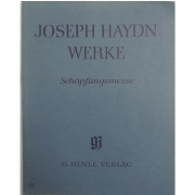 Joseph Haydn Werke Schopfungsmesse - G. Henle Verlag - 536