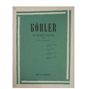 Köhler - 20 PEZZI FACILI OP. 159 para Piano