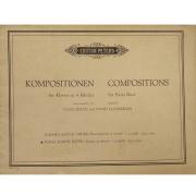 Kompositionen fur Klavier zu 4 Handen / Compositions for Piano Duet - Poldi Zeitlin 6058