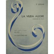 La Viuda Alegre Cancion de Vilia para Canto y Piano - F. Lehar BA10308