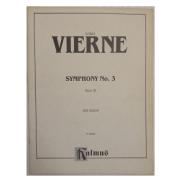 Louis Vierne Symphony No. 3 Opus 28 For Organ K 09965 Kalmus