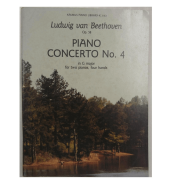 Ludwig Van Beethoven Op. 58 Piano Concerto No. 4 in G major for two pianos, four hands K 3163
