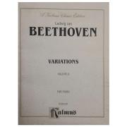 Ludwig van BEETHOVEN Variations Volume 2 For Piano K 03159 - Kalmus