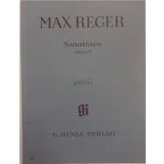 Max Reger Sonatinen Opus 89 - Urtext - G. Henle Verlag - 469