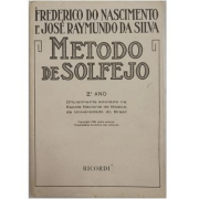 MÉTODO DE SOLFEJO - 2.° Ano - Frederico do Nascimento e José Raymundo da Silva - RB0054