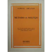 Método De Solfejo - Samuel Arcanjo - Para uso dos conservatórios, escolas, associações etc.. - BR827