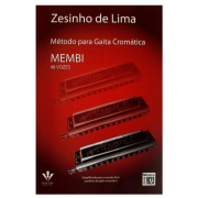 Método Para Gaita Cromática MEMBI 48 Vozes - Zesinho de Lima - 107M