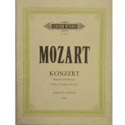 Mozart Konzert Klavier und Orchester C-Dur / C major KV503 - Urtext - Edition Peters Nr. 8825