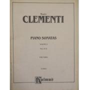 Muzio CLEMENTI Piano Sonatas Volume II Nos. 8-12 for Piano K09822 Kalmus