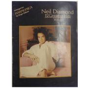 Neil Diamond 12 Greatest Hits Vol. II - Arranged for Harmonica by Roger Edison