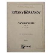 Nicolai Rimsky - Korsakov Piano Concerto Opus 30 In C Sharp Minor for Two Pianos K 05286 Kalmus