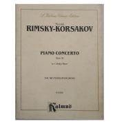 Nicolai Rimsky - Korsakov Piano Concerto Opus 30 In C Sharp Minor for Two Pianos K 05286 Kalmus
