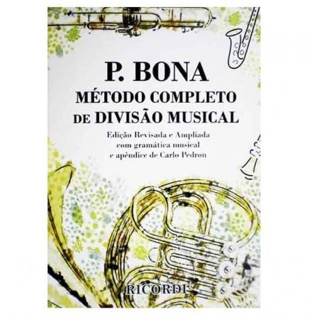 P. BONA Método Completo de Divisão Musical Carlo Pedron - RB0130