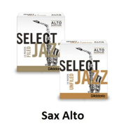 Palheta Rico D'addario Select Jazz Sax Alto