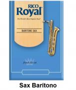 Palheta Rico Royal para Sax Barítono