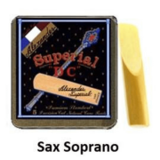 Palheta Superial DC para Sax Soprano