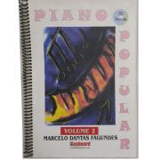 PIANO POPULAR MÉTODO PRÁTICO VOLUME 2 - Marcelo Dantas Fagundes - Com CD