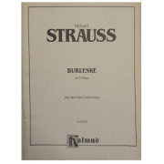Richard Strauss Burleske in D Minor for Two Piano / Four Hands K 04010 Kalmus