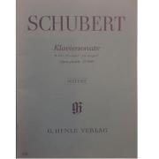 SCHUBERT Klaviersonate B-dur .Bb major. Sib majeur Opus posth. D960 - Urtext G.Henle Verlag - 399
