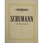 Schumann 3 Romanzen Opus 28 Klavier - Urtext - Edition Peters NR9521