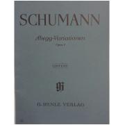 SCHUMANN Abegg-Variationen Opus 1 - Urtext - G. Henle Verlag - 87