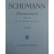 SCHUMANN - Blumenstuck Opus 19 Des-dur. Db Major. Ré b majeur - Urtext - G. Henle Verlag - 90