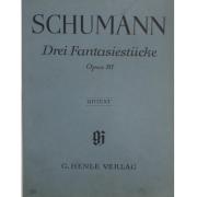 SCHUMANN Drei Fantasiestucke Opus 111 - Urtext - G. Henle Verlag - 89