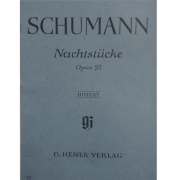 SCHUMANN Nachtstucke Opus 23 - Urtext - G.Henle Verlag - 104