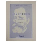 Six Etudes pour piano deuxieme livre Op. 111 Camille Saint - Saens Urtext 22031