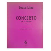 Souza Lima Concerto em Lá Menor Piano e Orquestra Redução para 2 pianos 20502C