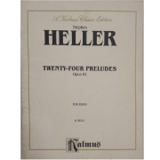 Stephen Heller Twenty-four Preludes Opus 81 for Piano K03515 Kalmus