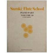 Suzuki Flute School Piano Part Volume 10 - Método para Flauta - 6966USA