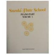 Suzuki Flute School Piano Part Volume 5 Método para Flauta - 01743USA